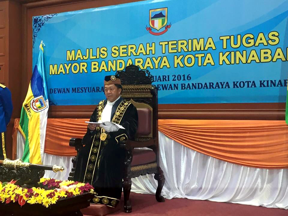 Congratulations to Our Chairman of Advisory Board, Datuk Dr Yeo Boon Hai for the appointment as the 4th Mayor of Kota Kinabalu