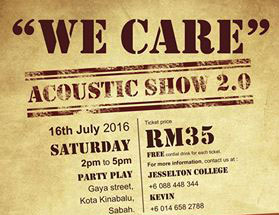 """We Care"" Acoustic Show 2.0"